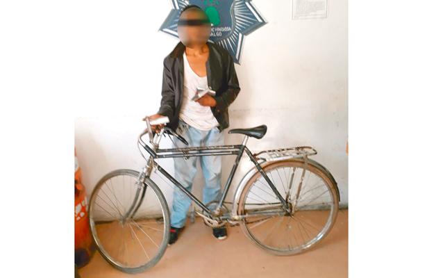 """Hurta bici y le """"echan guante"""" los preventivos"""