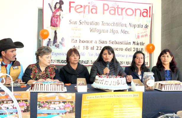 Feria de San Sebastián una tradición en Nopala
