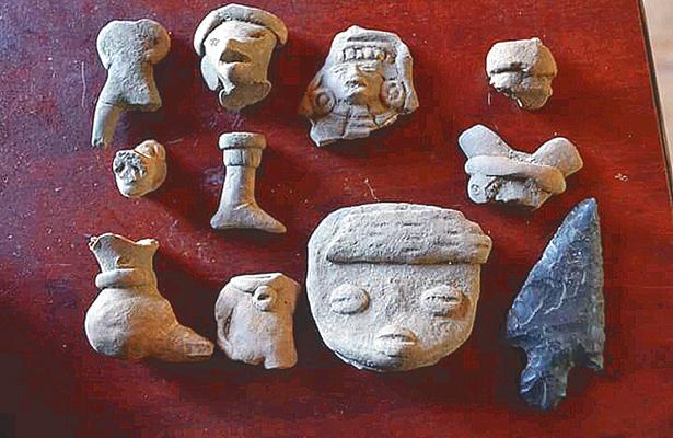 Construyen sobre vestigios arqueológicos