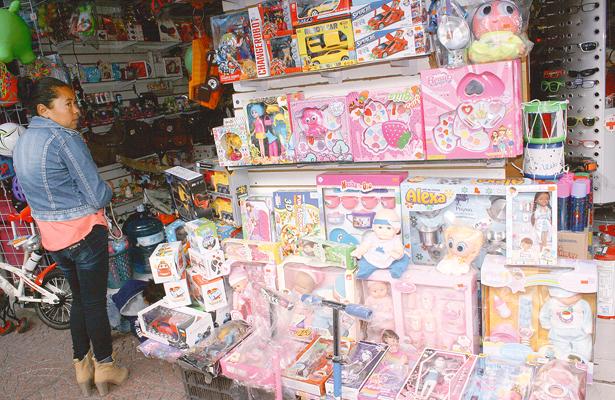 Comerciantes de juguetes confían que aumentaron sus ventas