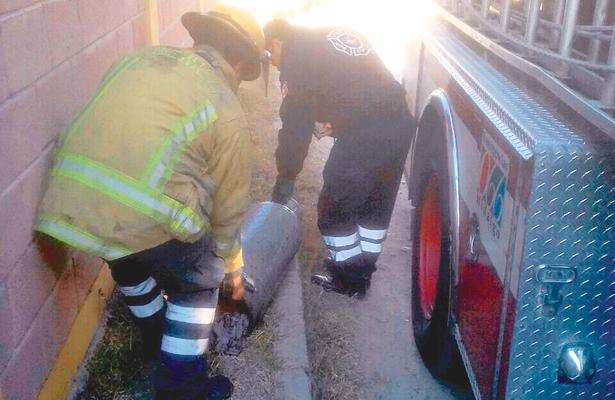 Fugas de gas y otras incidencias atienden tragahumos de Tula