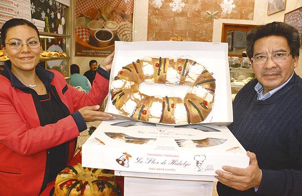 Habitantes degustarán Rosca de Reyes en región