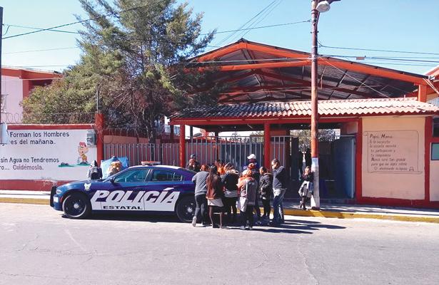 """Caso de """"bullying"""" en la Secundaria Jesús Reyes Heroles, en Tepeapulco,"""