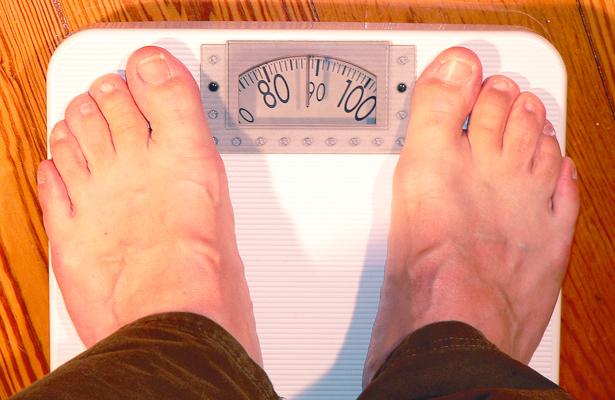 Saldo negativo  en masa corporal