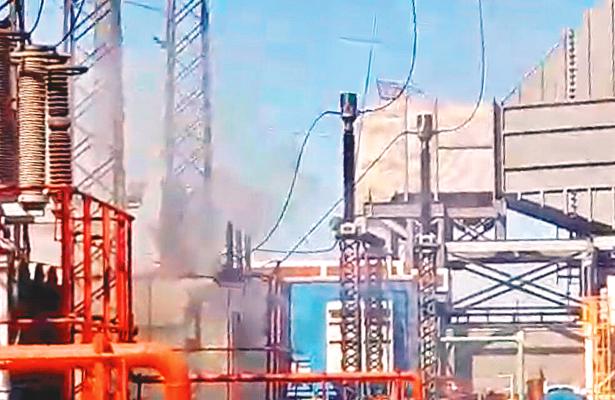Explotó transformador en la Termoeléctrica