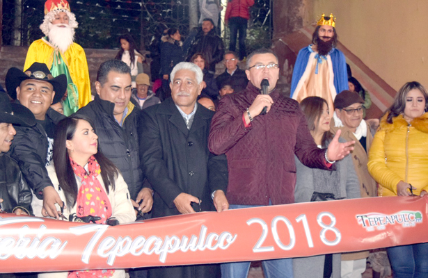 En Tepeapulco no paran  las fiestas religiosas