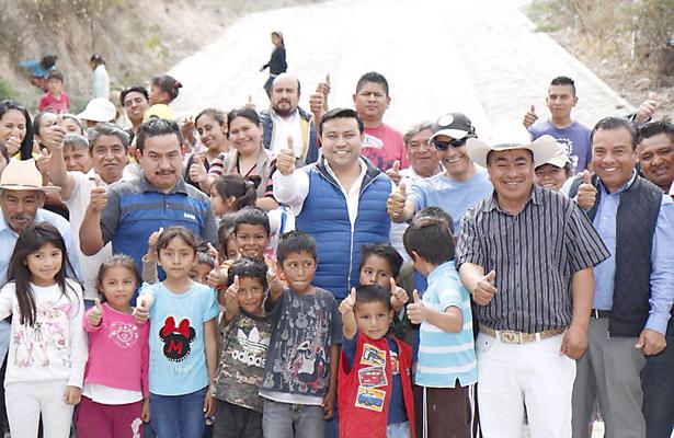 El Gobierno de la Gente entregó obras en Chicavasco, Actopan