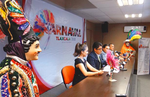 Convocan al carnaval de Tlaxcala