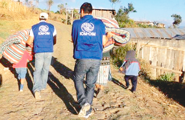 Migrantes agradecen apoyo del  programa Somos Mexicanos