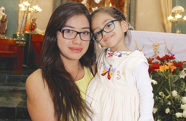 Tres años de Gabriela Valentina Bautista Alvarado