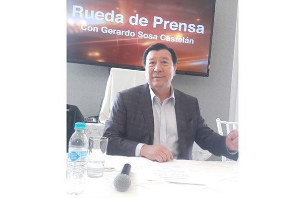No me expulsaron del PRI, afirma Gerardo Sosa