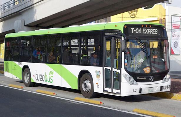 Operación del Tuzobús cuesta 12 mdp al mes