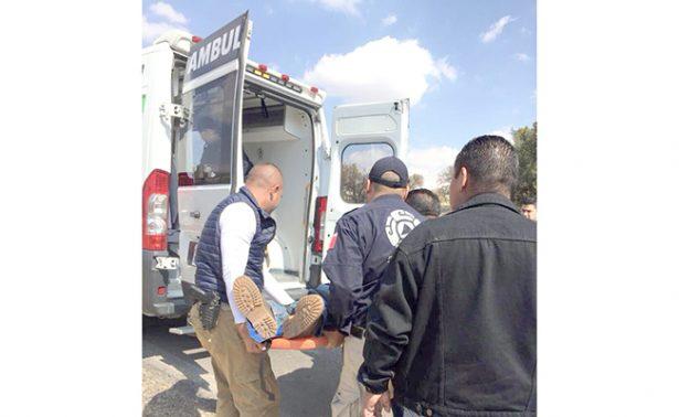 Agente de Policía murió en volcadura, sobre la carretera Santo Tomás-Tepeapulco