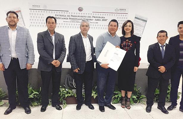 Cerca de 179 millones de pesos entregará el ISSSTE en préstamos
