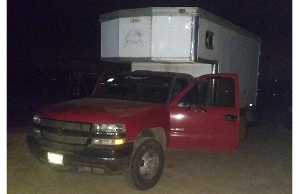 Recuperan caja y camioneta robadas