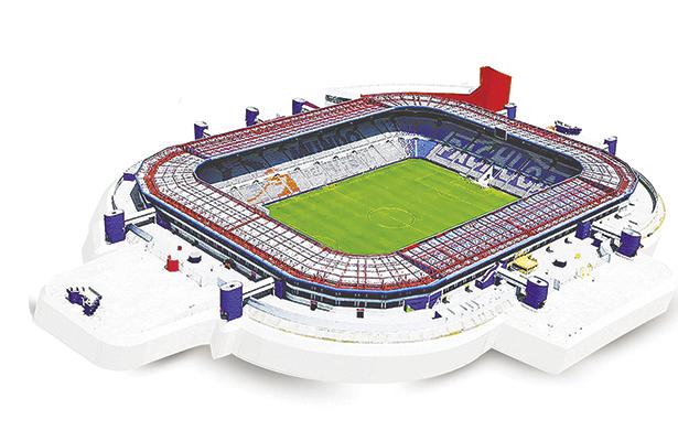 El estadio Hidalgo cumple su aniversario de plata