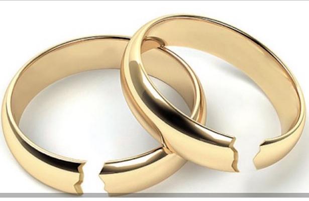 Se divorcian más del 25% de matrimonios