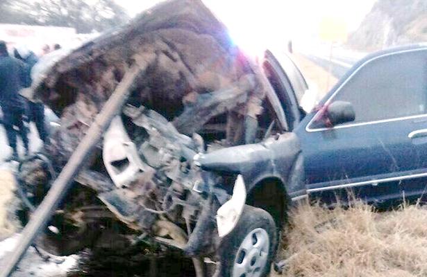 Mueren dos personas  en accidentes carreteros
