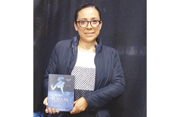 Sandra Pérez Monter presentó Los sueños de Raquel