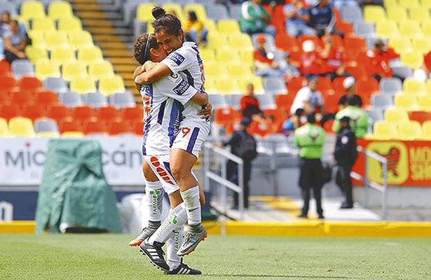 Las Tuzas ganan a domicilio al Morelia 7-1