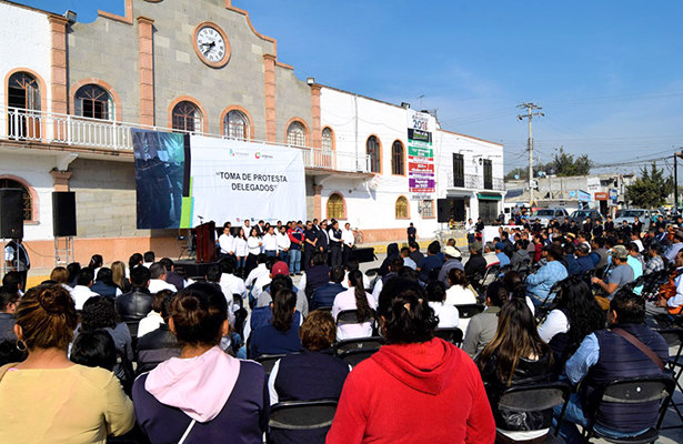 Toman protesta 35 delegados de San Salvador