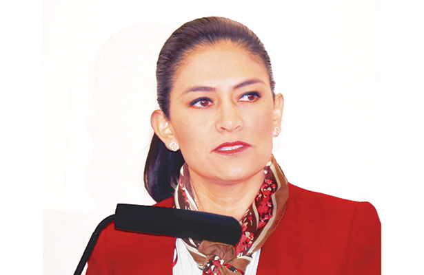 """LILIANA Verde, regidora de Pachuca: """"Constitucionalmente es obligación del ayuntamiento brindar el servicio de abasto de carne en el municipio"""". Foto: El Sol de Hidalgo."""