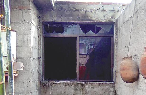 Histeria por ver su casa en llamas