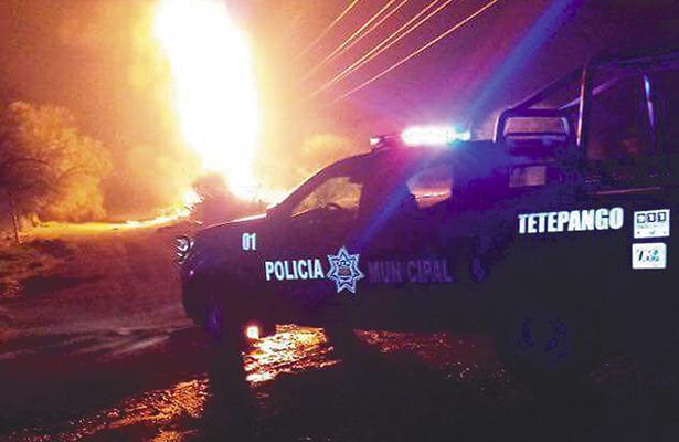 Infernal noche de bomberos