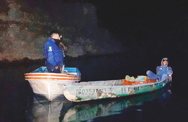 Frena Policía pesca ilegal; hay 3 hombres detenidos