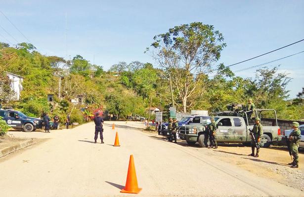 Activan filtro de BOM  en región Huasteca para detectar armas y drogas