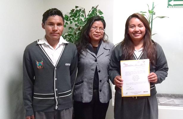 Estudiantes representan a  Hidalgo a nivel internacional