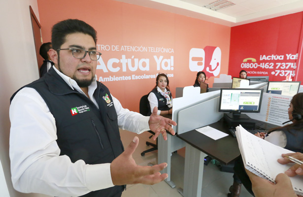 65 reportes en el Call Center  de atención a casos de bullying
