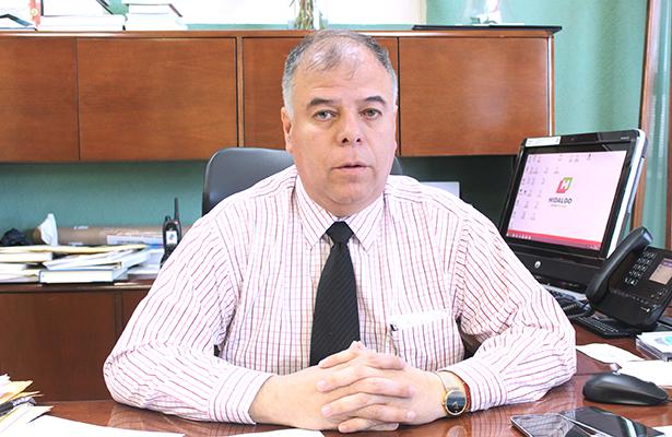 Javier Ramiro Lara Salinas procurador estatal. Foto: El Sol de Hidalgo.
