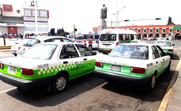 Sufren taxis cinco asaltos a la semana