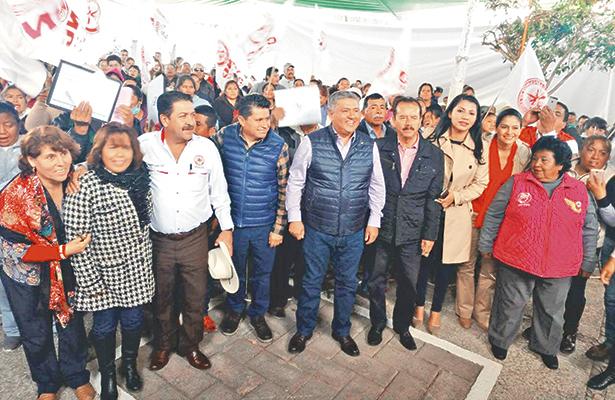Ampliación de viviendas en 18 municipios de Hidalgo