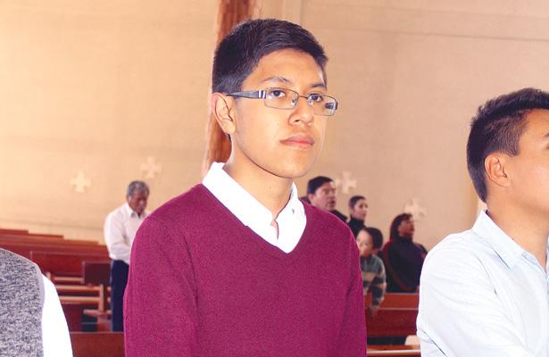 Juan Pablo cumplió quince años