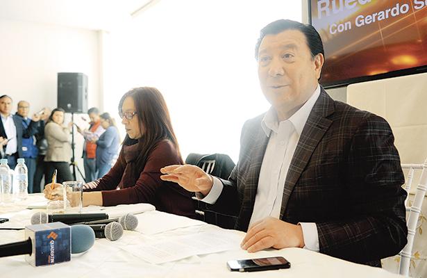 No buscaré candidatura por algún partido: Gerardo Sosa