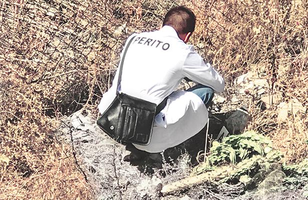Personal de Limpias halla cabeza en terreno baldío del fraccionamiento Lomas Residencial Pachuca,