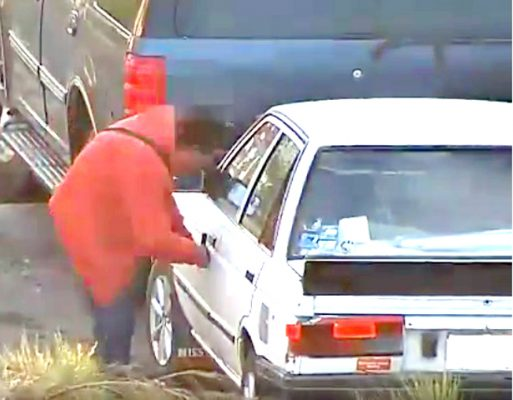 [Video] Con videovigilancia, presunto desvalijador es  captado y asegurado en calles de Pachuca