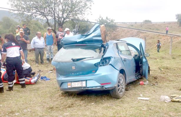 Mujer muere en accidente de tránsito