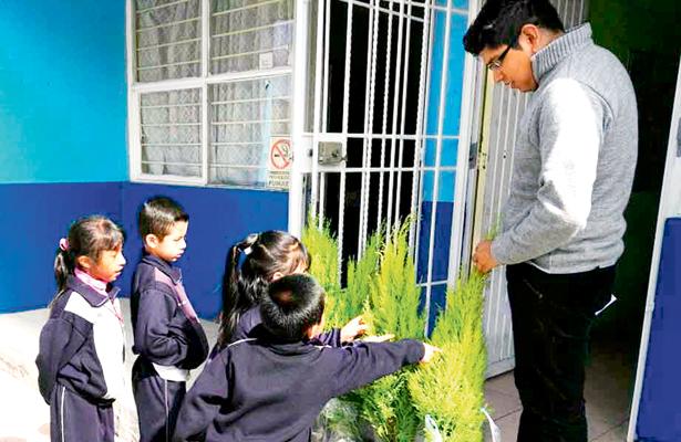 Reforestación y reciclaje, de la mano