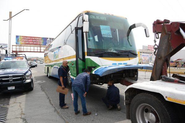 Atropellado por autobús ODT