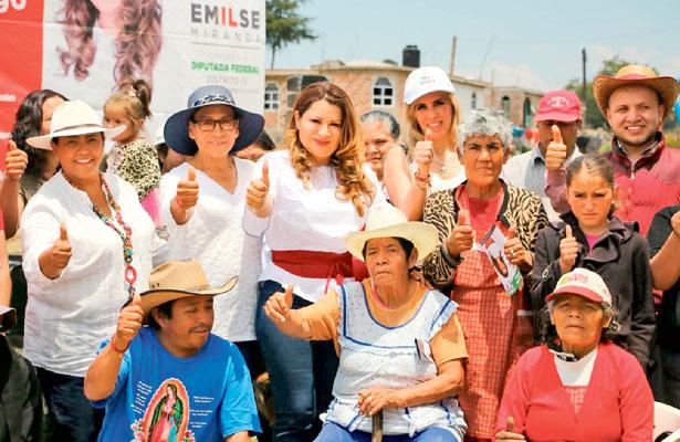 Emilse Miranda: conquistaré al electorado con propuestas sólidas