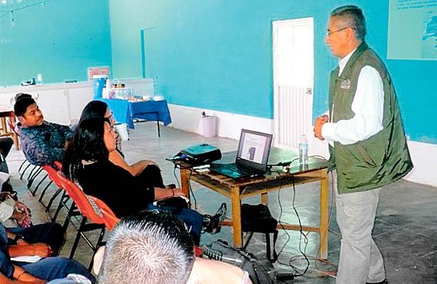 PROFEPA impartió taller para proteger Los Mármoles