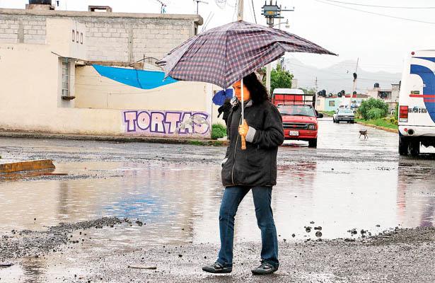 A sacar el paraguas; se pronostican lluvias para esta semana en Hidalgo