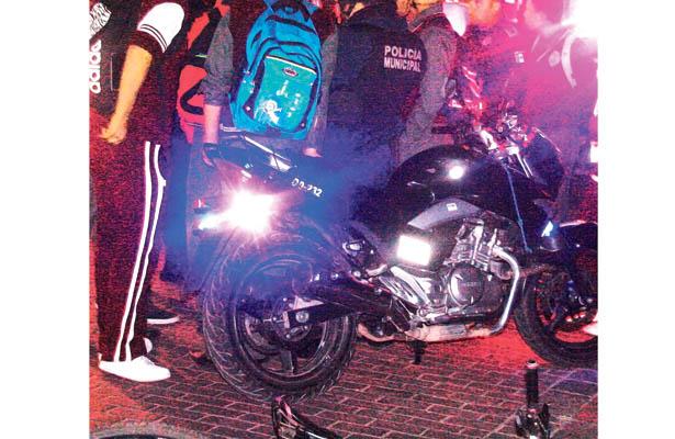 Continúan operativos de motos en diferentes sectores