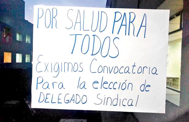 Delegados sindicales son electos por voto directo