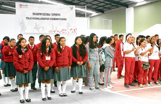 Competencias deportivas y culturales del Telebachillerato Comunitario