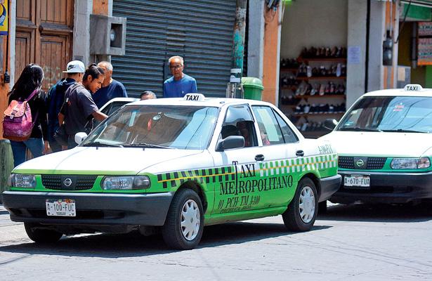 Los taxis de Pachuca tendrán botón de pánico antiasaltos