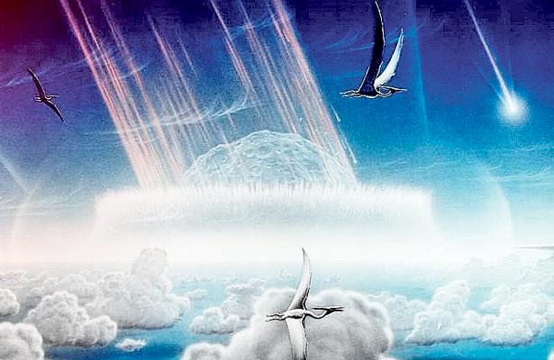 Calentó 100 mil años la tierra el asteroide que extinguió dinosaurios